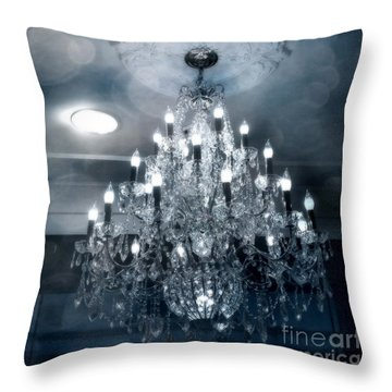 Crystal Chandelier Throw Pillows