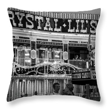 Crystal Lil's Throw Pillow