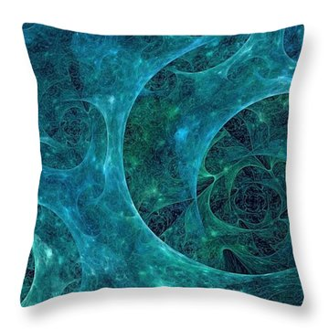 Crystal Nebula-ii Throw Pillow