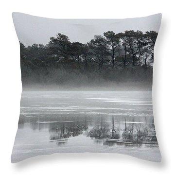 Crystal Sea Throw Pillow