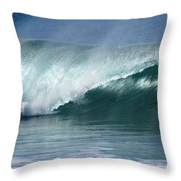 Crystalline Pipeline  Throw Pillow by Kevin Smith
