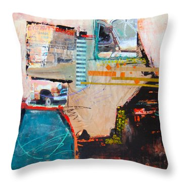 Ctc Auto Ranch 2 Throw Pillow by Ron Stephens