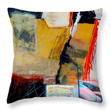 Ctc Auto Ranch Throw Pillow by Ron Stephens