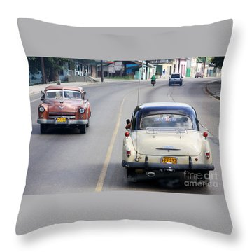 Cuba Road Throw Pillow