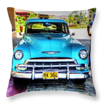 Cuban Taxi			 Throw Pillow