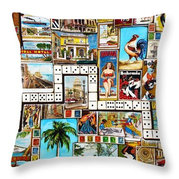 Cubana Throw Pillow