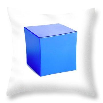 Platonic Solids Throw Pillows