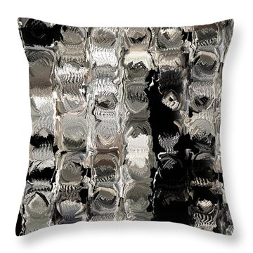 Cubes Unraveled  Throw Pillow by Jack Zulli