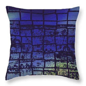 Cubik Throw Pillow