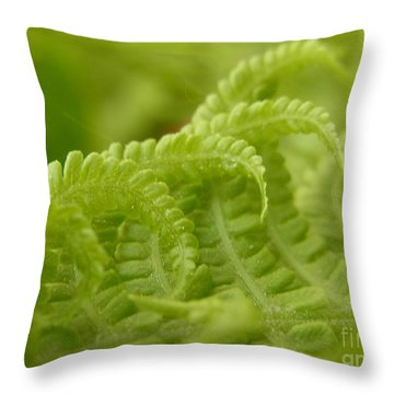Throw Pillow featuring the photograph Cuddle by Agnieszka Ledwon