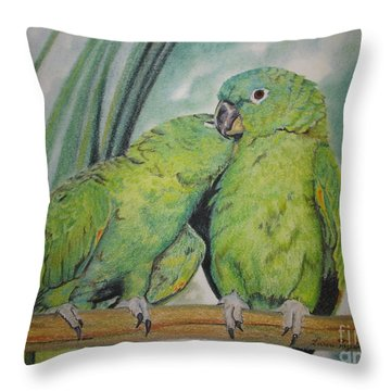 Cuddles Throw Pillow
