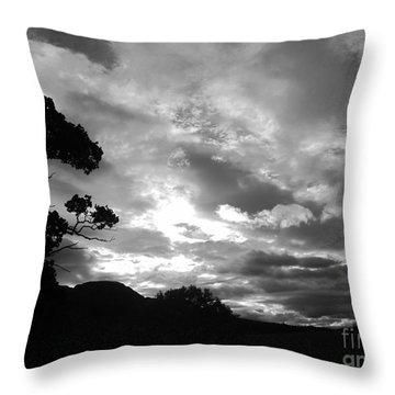 Culcreuch Sky Throw Pillow