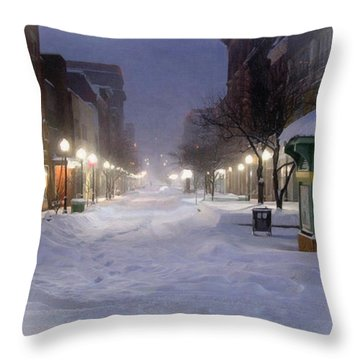 Cumberland Winter Throw Pillow