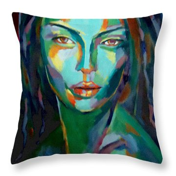 Cunning Throw Pillow