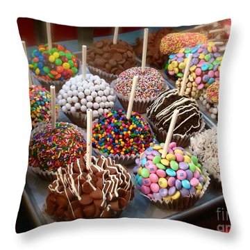 Cupcakes Galore Throw Pillow