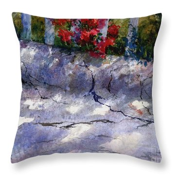 Curb Side Throw Pillow