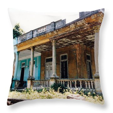 Curbside Appeal Throw Pillow
