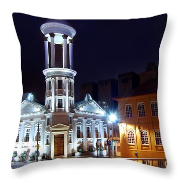 Curitiba - Centro Historico Throw Pillow