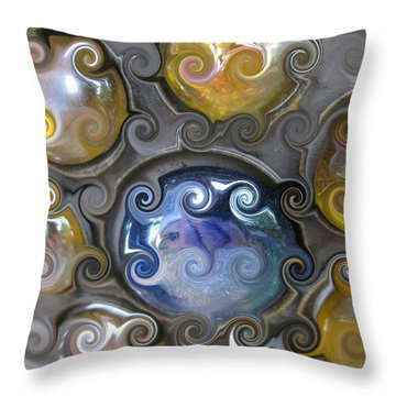 Curlicue IIi Throw Pillow