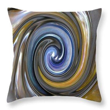 Curlicue Twirl Throw Pillow