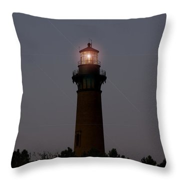Throw Pillow featuring the photograph Currituck Lighthouse by Greg Reed