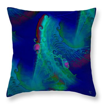 Cursive Throw Pillow