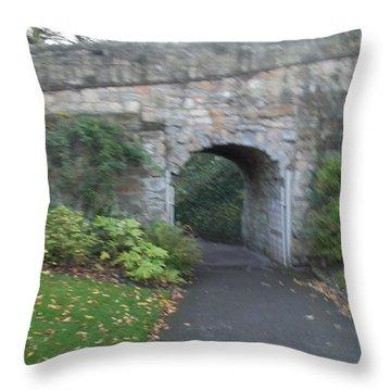 Curtain Wall Gateway Throw Pillow