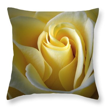 Curves Of Joy Throw Pillow