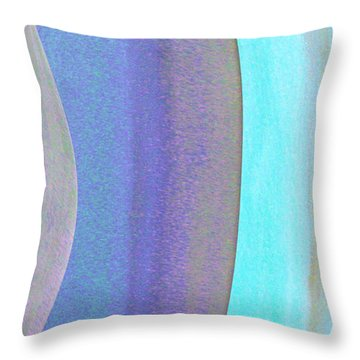 Curves1 Throw Pillow