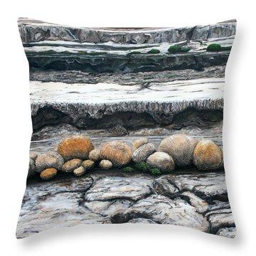 Cushion Bush Dam Throw Pillow by Lyndsey Hatchwell