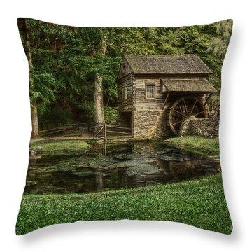 Cuttalossa Farm In Summer I Throw Pillow