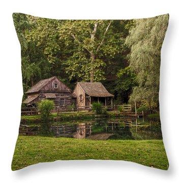 Cuttalossa In Summer II Throw Pillow