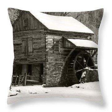 Cuttalossa In Winter Iv Throw Pillow