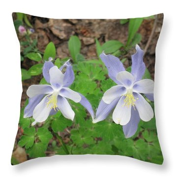 Cute Couple In Love Throw Pillow
