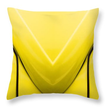 Cute Little Car Faces Number 8 Throw Pillow