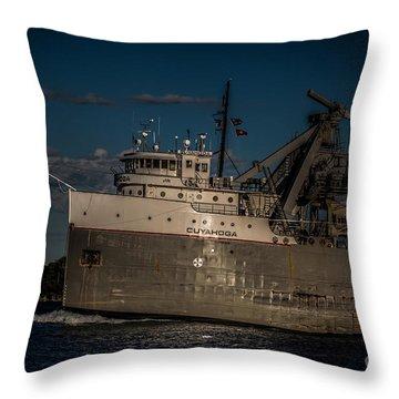 Cuyahoga Throw Pillow