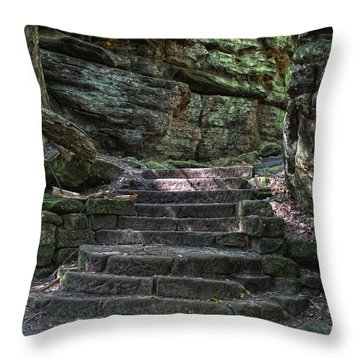 Cuyahoga Valley National Park Throw Pillow by Jeannette Hunt