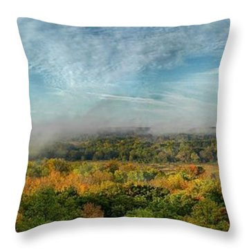 Cuyahoga Valley Panarama Throw Pillow