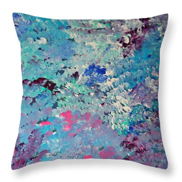 Cy Lantyca 5 Throw Pillow