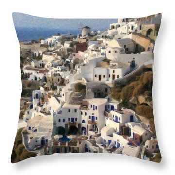 Cyclades Grk4309 Throw Pillow