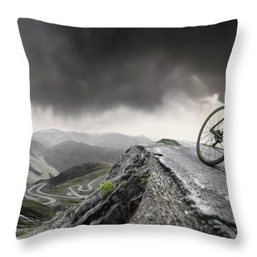 Away From It All Throw Pillows