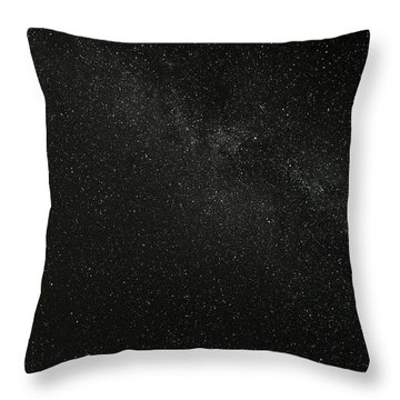 Throw Pillow featuring the photograph Cygnus  Deneb  Vega by Greg Reed