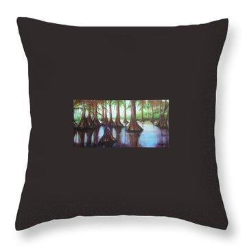Cypress 1 Throw Pillow