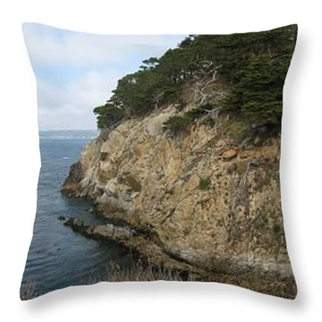 Cypress Cove Panorama Throw Pillow