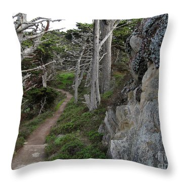 Cypress Grove Trail Throw Pillow
