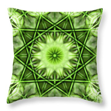 Cypress Kaleidoscope 1 Throw Pillow