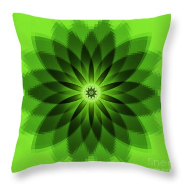 Cypress Kaleidoscope 2 Throw Pillow