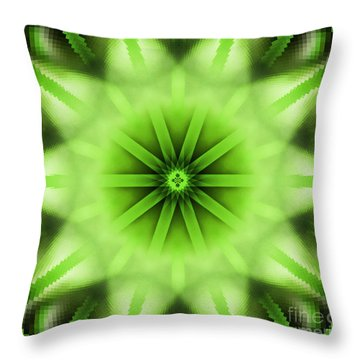 Cypress Kaleidoscope 3 Throw Pillow