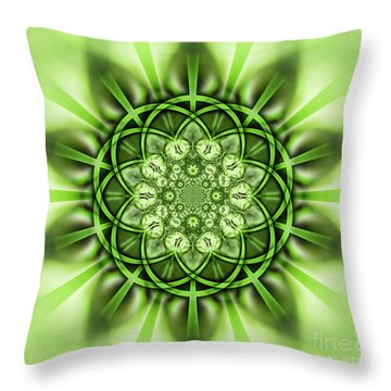 Cypress Kaleidoscope 4 Throw Pillow