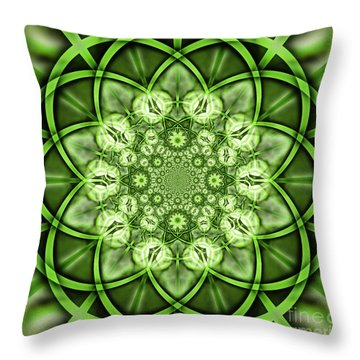 Cypress Kaleidoscope 5 Throw Pillow